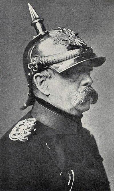 Retrato de Bismarck
