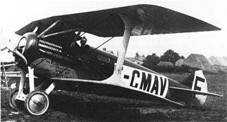 Blériot-SPAD S.27 - Image: Blériot SPAD S.27 F CMAY