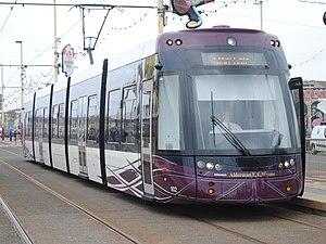 Flexity 2 (Blackpool) - Image: Blackpool Transport 002 (Alderman E.E. Wynne) (9125326011)