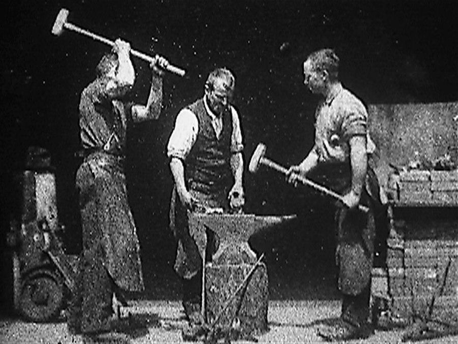 Blacksmithing Scene