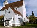 Blaue Kirche in Stetten am kalten Markt, Seitenansicht.jpg
