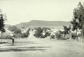 Bloemfontein - Bloemfontein, circa 1900.