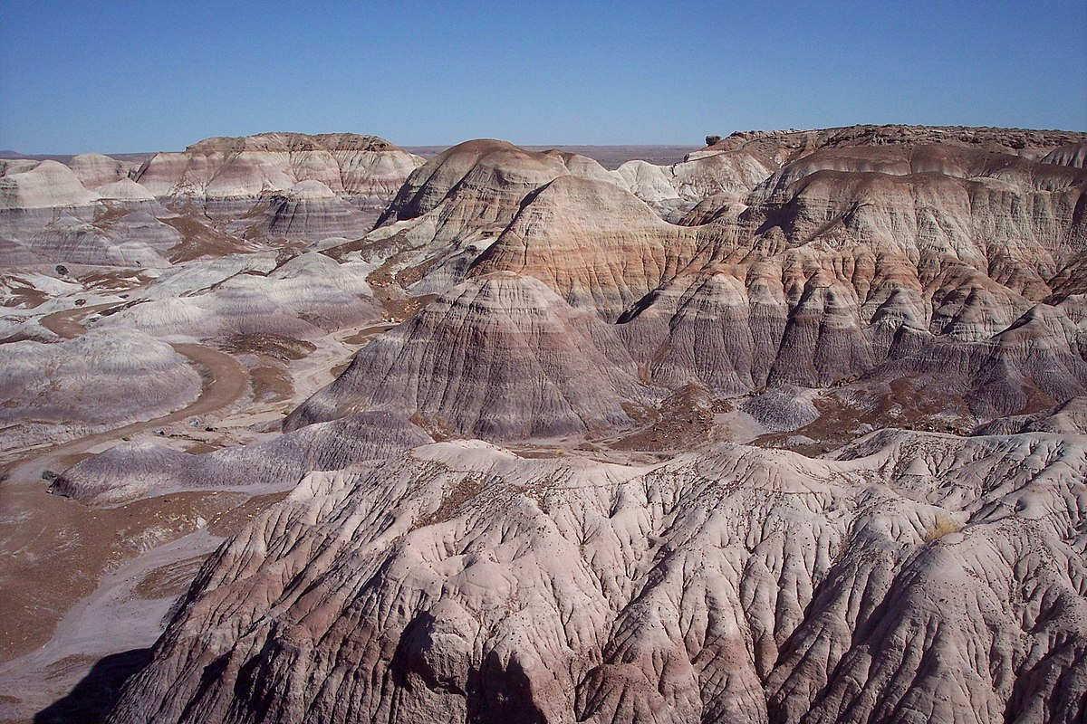 Where Is The Painted Desert Located On A Map