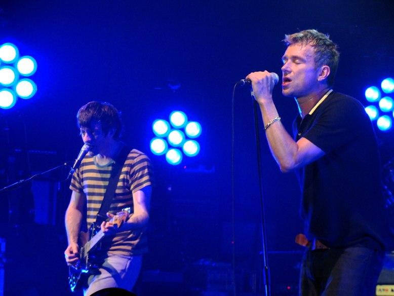 Blur Newcastle 2009 Coxon Albarn