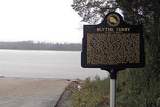 Blythe Ferry - Blythe Ferry site