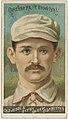 Bob Caruthers, Brooklyn Trolley-Dodgers, baseball card portrait LCCN2007680744.jpg