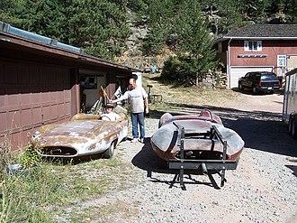 Bocar - Pre-restoration Stiletto 2, and 3, in 2007