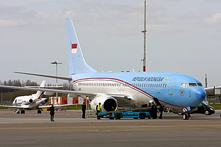 Indonesian Presidential Aircraft