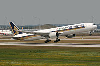 9V-SWH - B77W - Singapore Airlines