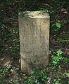 Bois de Laye, St georges de Reneins, France, Stone for Mme Lievre killed by German troops (3).JPG