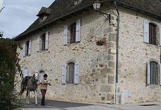 Boisset, Cantal - A view in Boisset