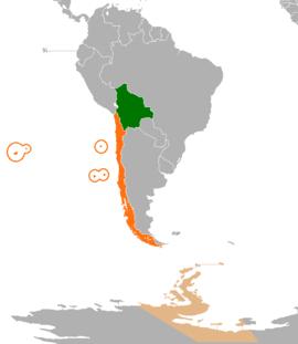 Relaciones Bolivia Chile Wikipedia La Enciclopedia Libre
