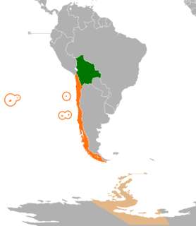 Bolivia–Chile relations Diplomatic relations between the Plurinational State of Bolivia and the Republic of Chile