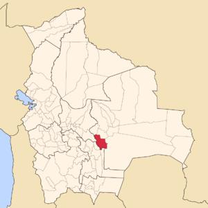 Vallegrande Province - Image: Bolivia Santa Cruz Vallegrande