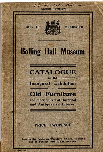 East Bowling - Image: Bolling Hall Museum catalogue