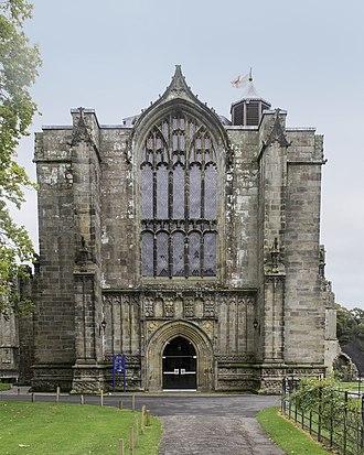 Bolton Priory - West Facade of Bolton Priory