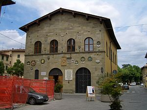 Borgo San Lorenzo - The public library of the comune