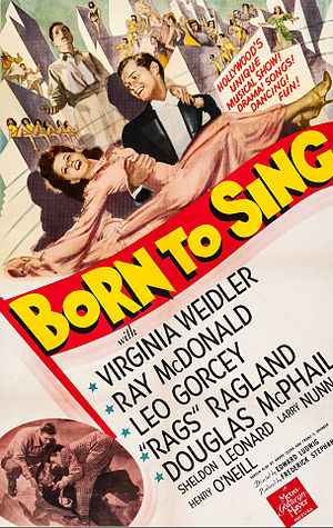 Born to Sing (1942 film) - Film poster