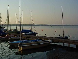 Großer Plöner See The largest lake in Schleswig-Holstein, Germany