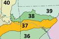 Boston Mountains ecoregion, Level III.png