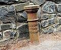Boundary post, Hilden (2) - geograph.org.uk - 1815727.jpg