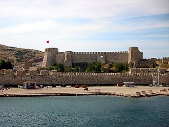 Bozcaada, Çanakkale - Bozcaada Castle in the district center