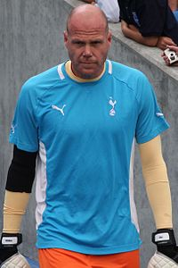 Brad Friedel entrance Brighton v Spurs Amex Opening 30711.jpg