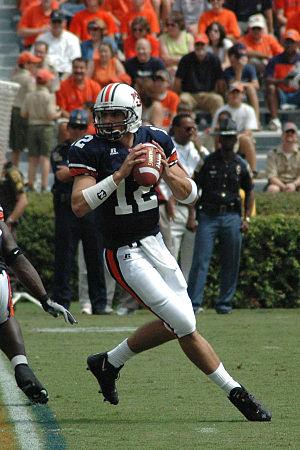 2007 Auburn Tigers football team - Senior Brandon Cox led AU.