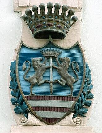 Keglević family - Image: Bratislava erb na Rudnayovej ulici