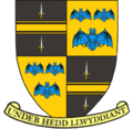Coat of arms of the historic county of Brecknockshire, Wales