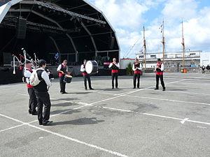 Brest 2012 - Bagad Kerhor - (2).JPG