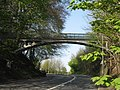 Bridge carrying public footpath over A217 (Reigate Hill) - geograph.org.uk - 1277367.jpg