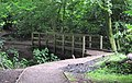 Bridge over Shaw Brook, Worden Park - geograph.org.uk - 1384930.jpg