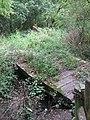 Bridge over stream, near Great Rose Lane - geograph.org.uk - 1456154.jpg