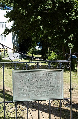 National Register of Historic Places listings in Marlborough, Massachusetts - Image: Brigham Cemetery