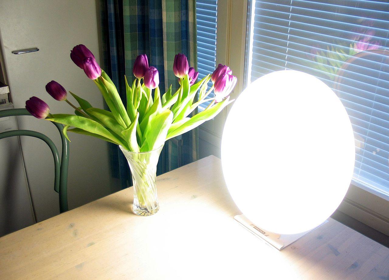 Tageslichtlampen bei Depression