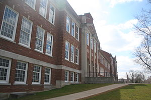 Brighton, Monroe County, New York - Brighton High School, the only public high school in Brighton