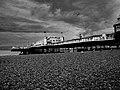 Brighton Pier - B^W HDR shot - panoramio.jpg