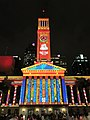 Brisbane City Hall light projection show 2017, 01.jpg