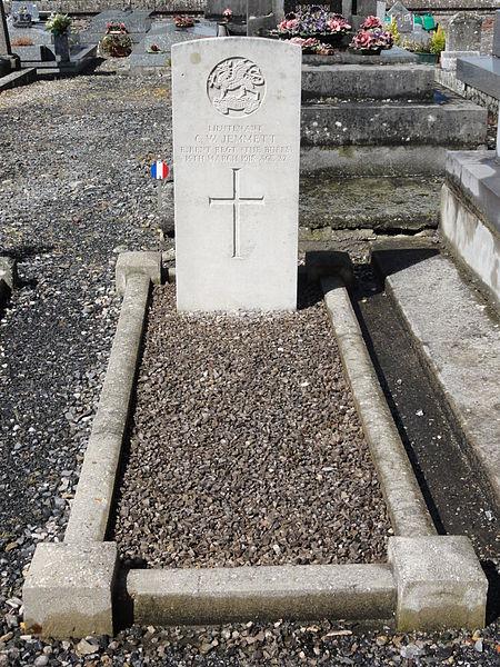 Brissay-Choigny (Aisne) tombe de guerre de la CWGC
