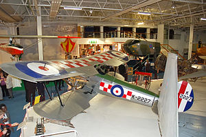 Bristol Bulldog - A Bristol Bulldog preserved at the RAF Museum, Hendon