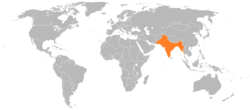 The British Indian Empire in 1936