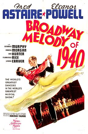 Description de l'image Broadway Melody of 1940 Poster.jpg.