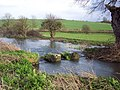 Broken hatches on the River Ebble at Bishopstone - geograph.org.uk - 350182.jpg