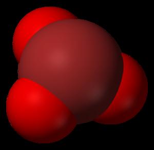 Sodium bromate - Image: Bromate 3D vd W