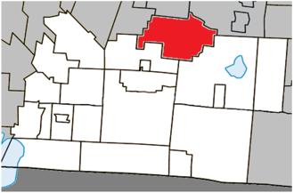 Bromont, Quebec - Image: Bromont Quebec location diagram