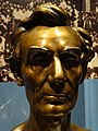 Bronze Bust of Abraham Lincoln - By Leonard Volk - Chicago History Museum - Lincoln Park - Chicago - Illinois - USA (32620683500).jpg