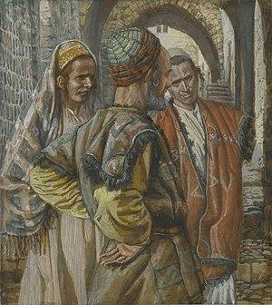 Simon the Cyrenian and His Two Sons Alexander and Rufus