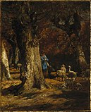 Brooklyn Museum - The Old Forest - Charles-Emile Jacque.jpg