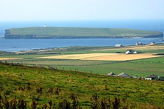 Birsay - Birsay Parish, with the Brough of Birsay in the background